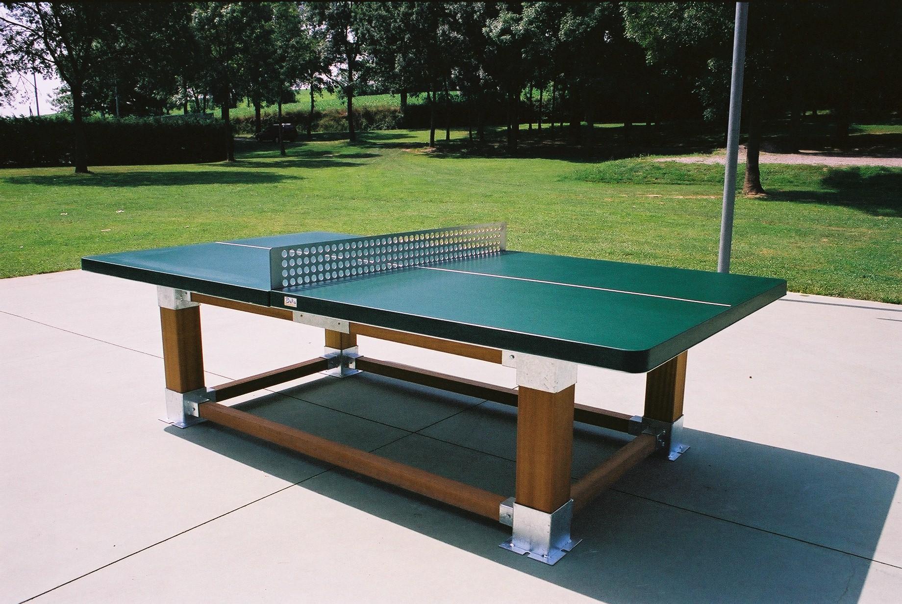 Diy Outdoor Ping Pong Table Designs