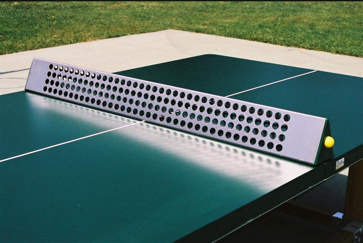 Outdoor table tennis tables are everywhere