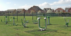 Playground equipment from Caloo