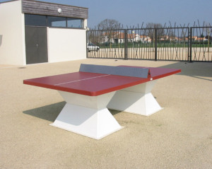 Table Tennis changes its balls