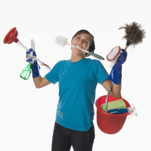 Get fit doing housework