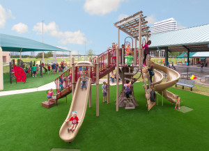 Green spaces essential to children's health
