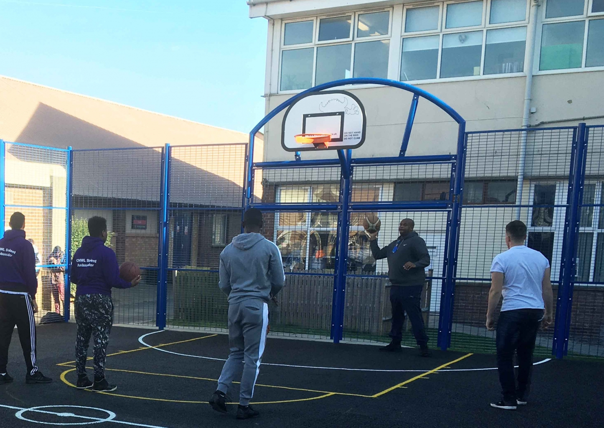 College Of North West London Multi Use Games Area And