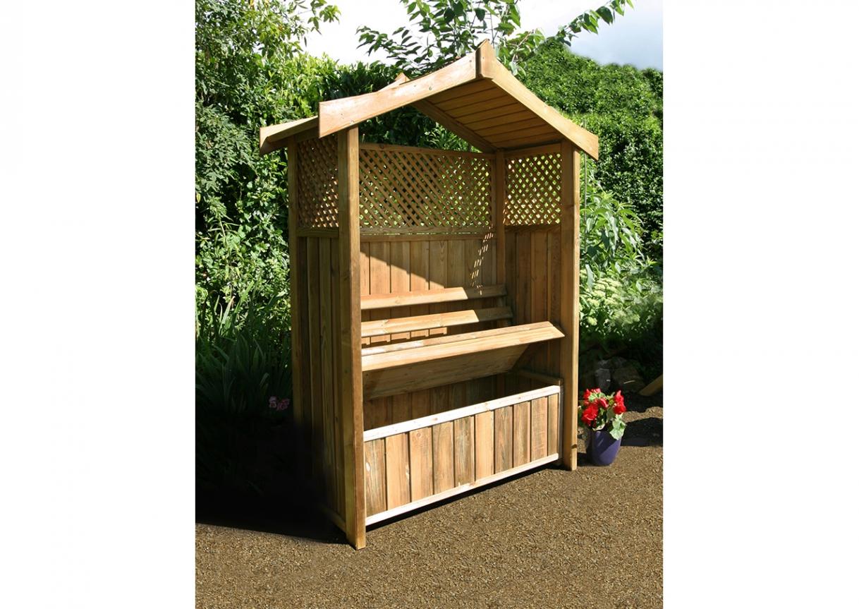 Dorset Arbour With Storage Box Caloo Ltd