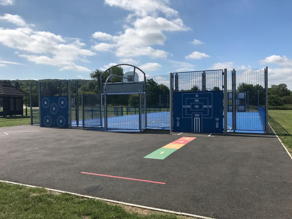 Aston Clinton Multi Use Games Area Caloo Ltd