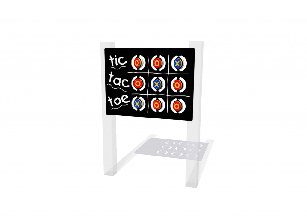 Tic Tac Toe Play Panel Caloo Ltd
