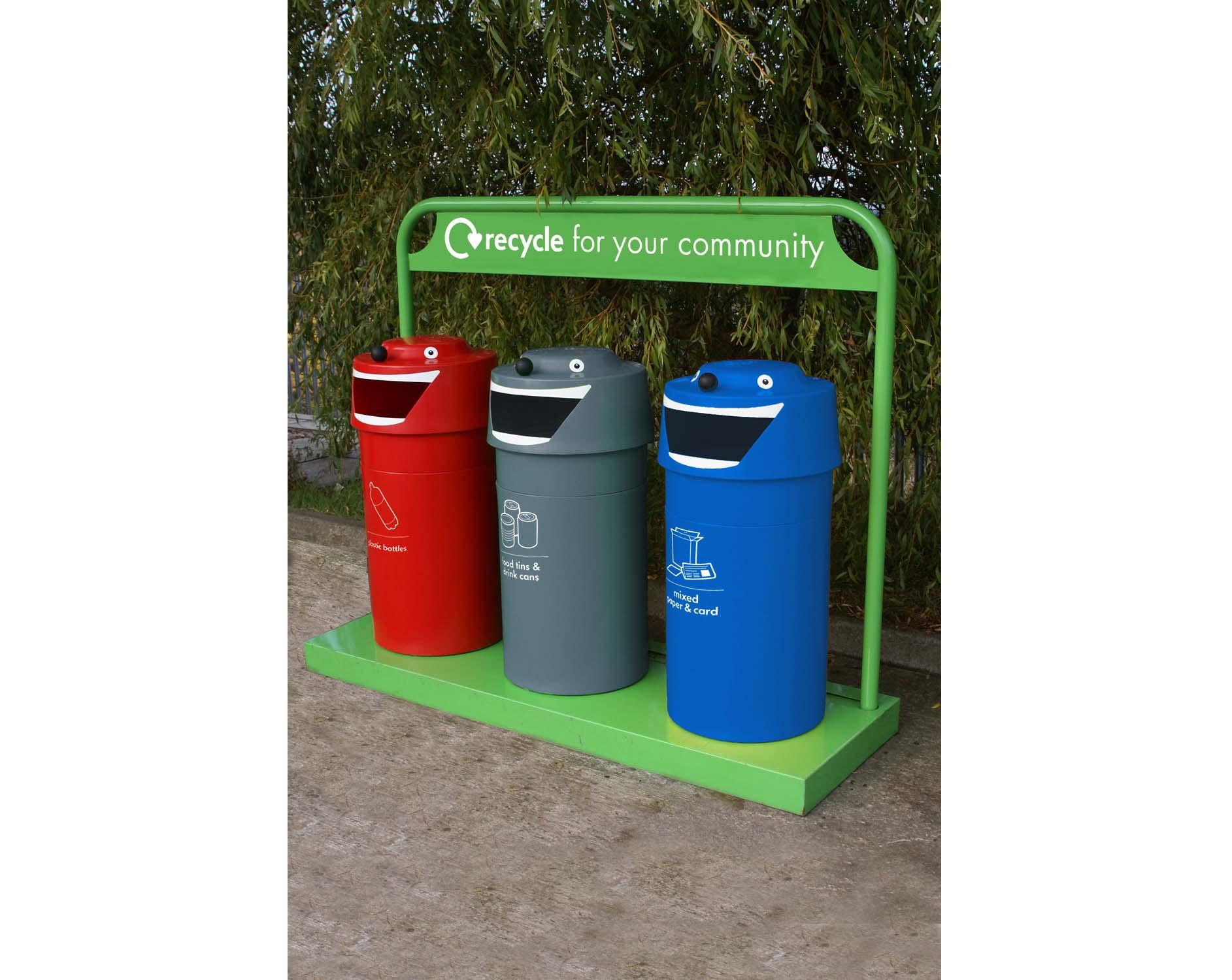 Face Recycling Bins Caloo Ltd