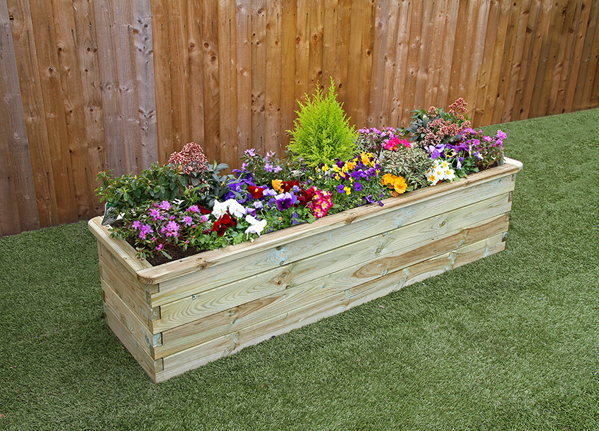 Narrow Sleeper Raised Bed Caloo Ltd