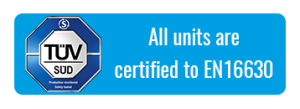 TUV Certified Banner