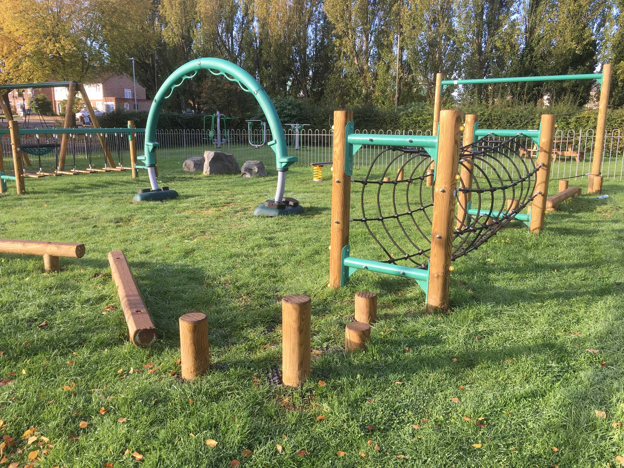 Watford Community Housing Trust Playground And Outdoor Gym