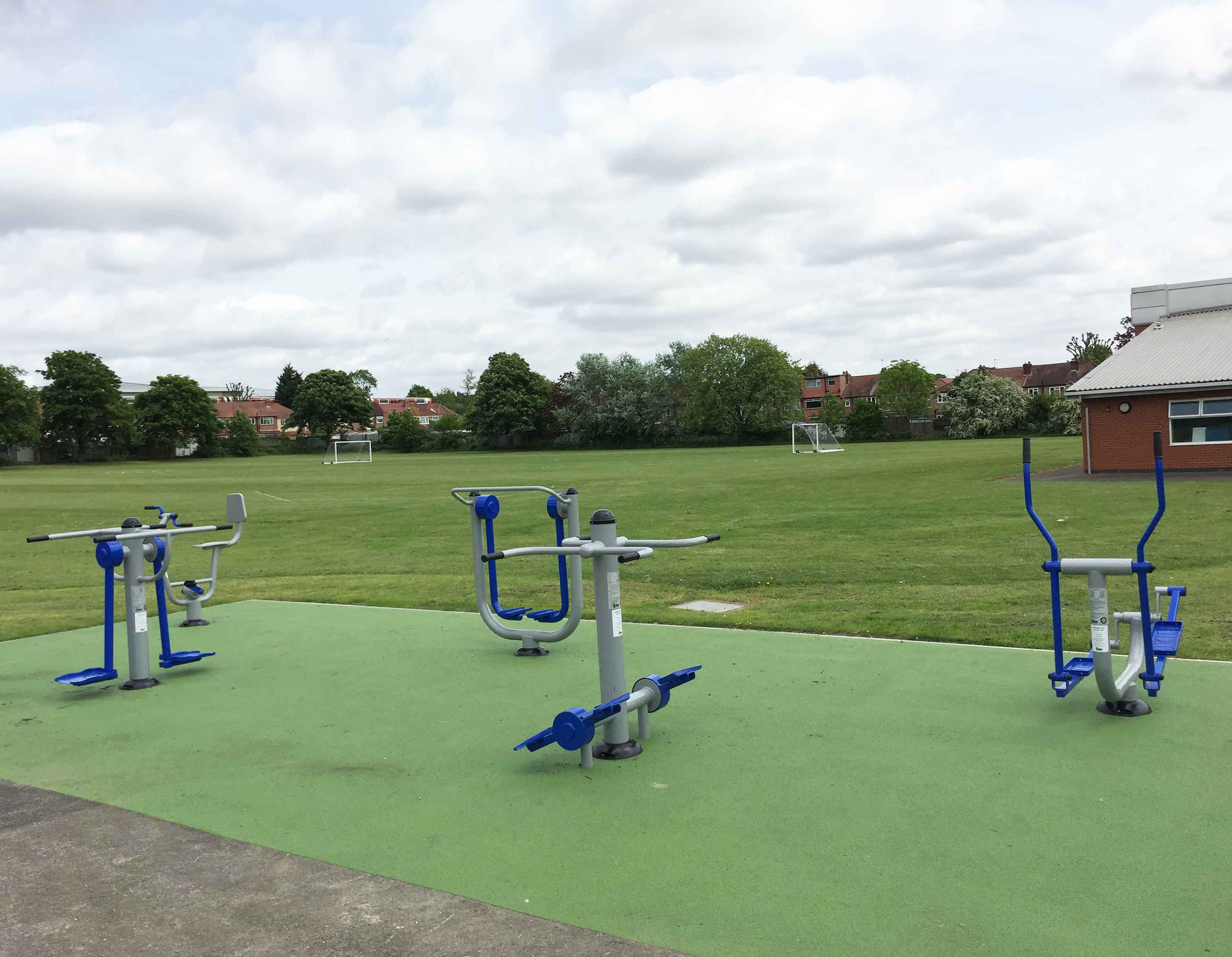 Selborne Primary School Outdoor Gym Equipment Caloo Ltd