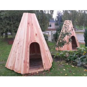5066-Wooden Playhouse Tipi
