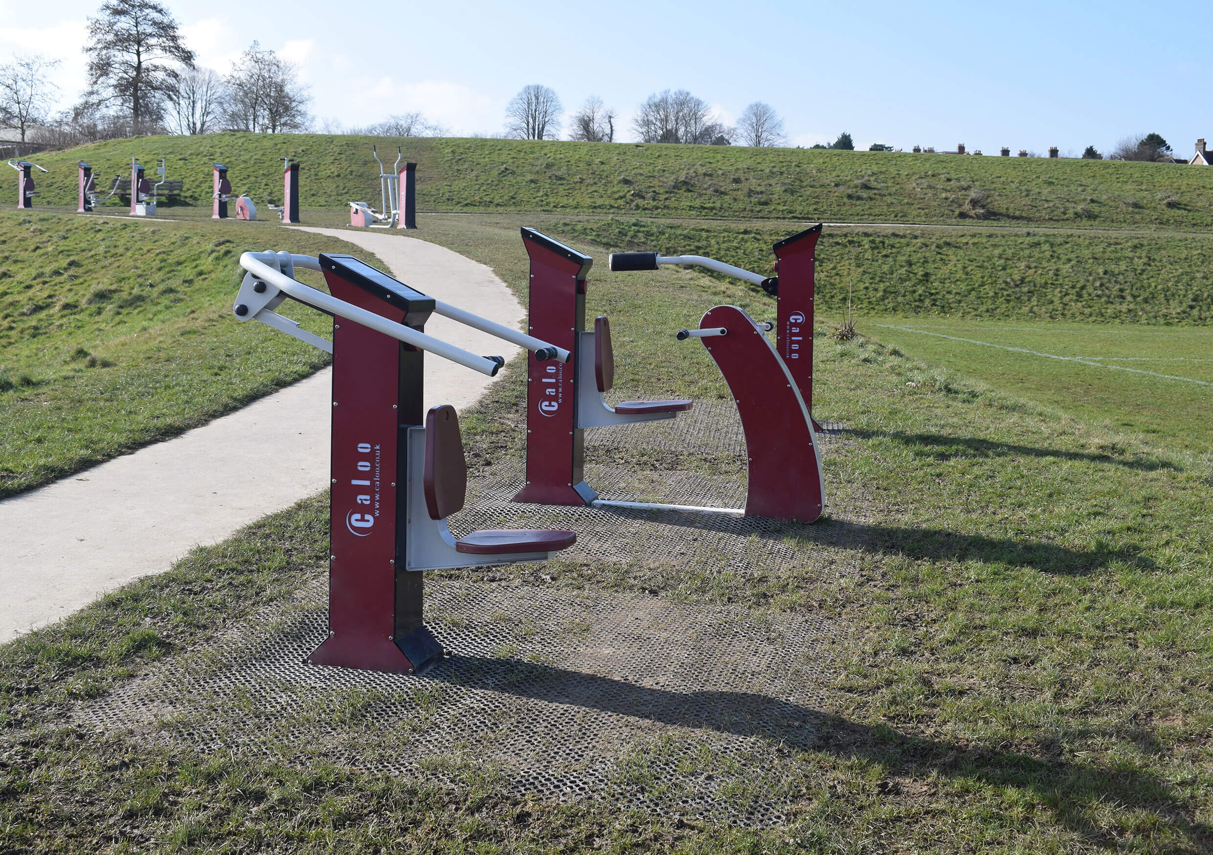 Crowborough Town Council Variable Resistance Outdoor Gym