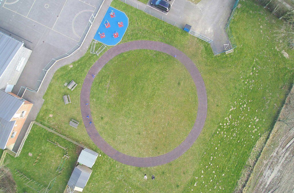 Daily Mile Hankham Primary School Daily Mile Track