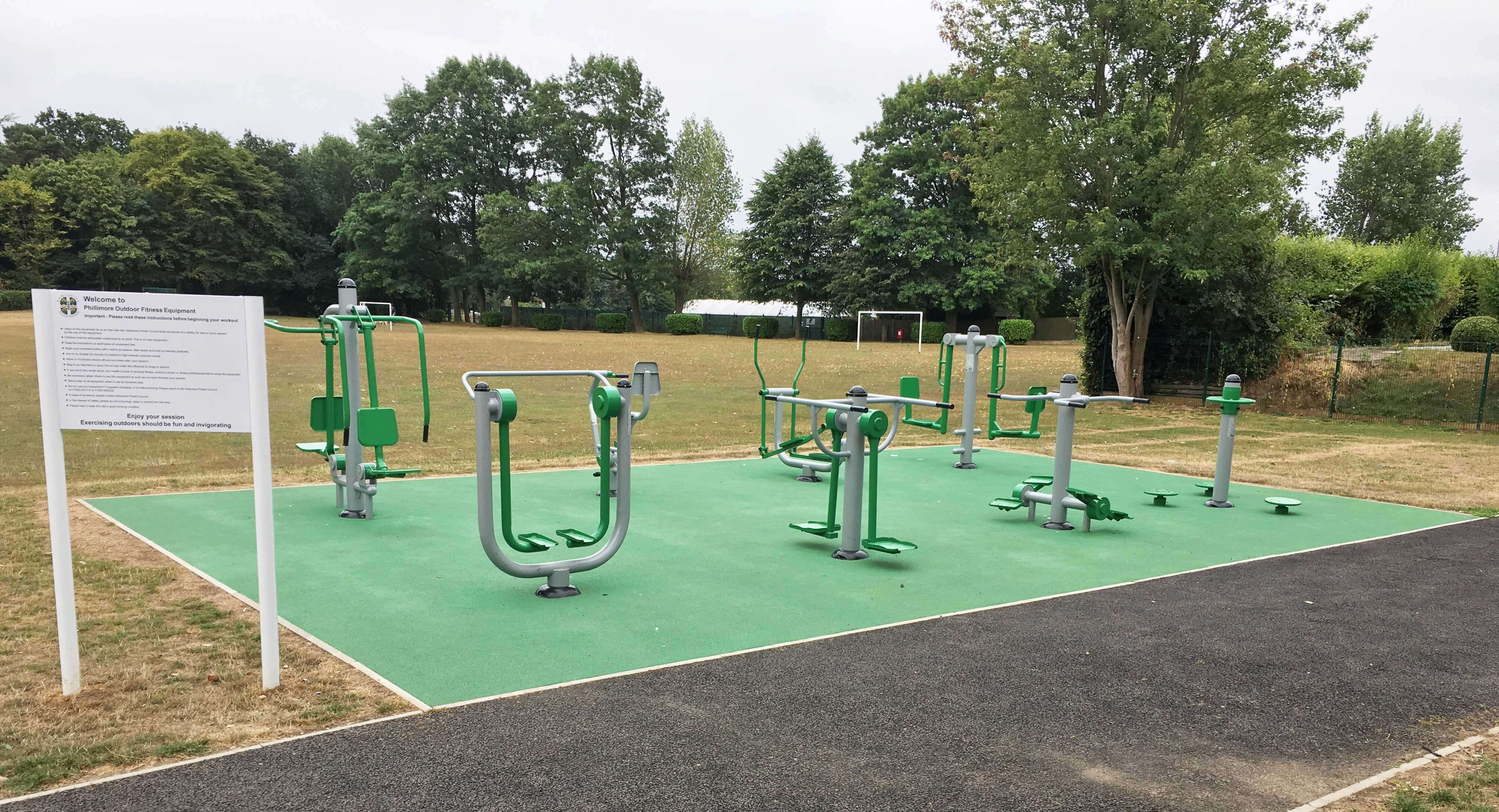 Playground Workout Parks